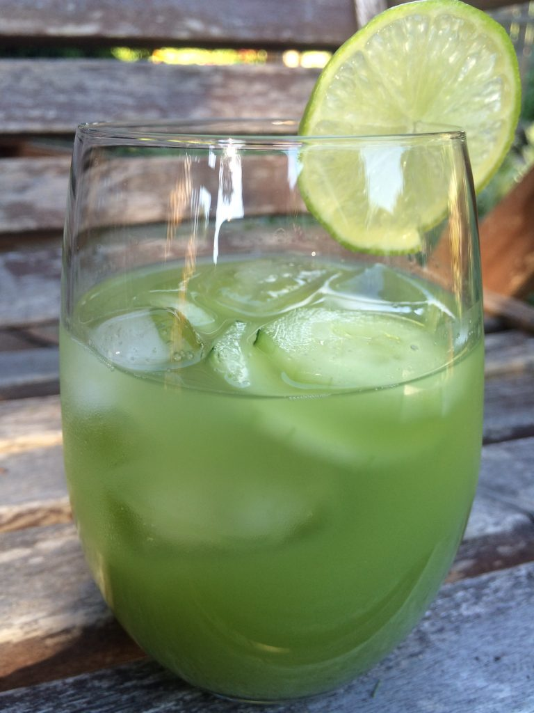 honeydew cucumber mint cooler
