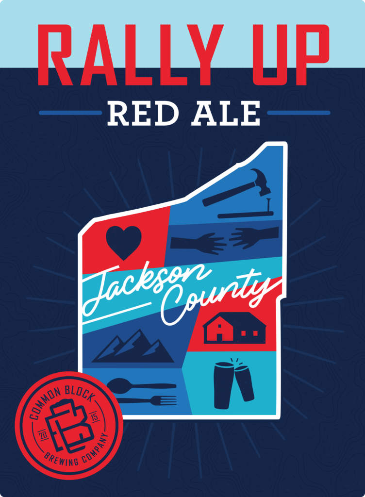 rally up red ale common block